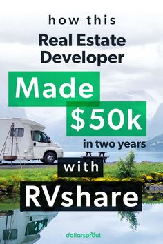 Real estate developer Mike Braeuer first downloaded RVshare in 2018 to sell his $8,800 Jayco Jay Flight trailer. Instead, he earned $50,000 in two years renting out his RV! Learn his tips to earn passive income with an RV. |Make Money| Earn Money| Make 1,500 per Month| Earn More Money, Make Money Fast, Make Money Blogging, Make Money From Home, Money Tips, Make Money Online, Saving Money, Quitting Your Job