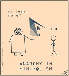 in minimalism! Anarchy, Minimalism, Funny Quotes, Sketches, Joy, Content, Humor, Movie Posters, Black