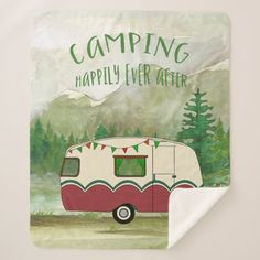 Camper Sherpa Blanket #videos #kids #parenting camping decorations, camping food, tent camping, back to school, aesthetic wallpaper, y2k fashion Camping Decorations, Camping Coffee, Food Tent, Edge Stitch, Its Cold Outside, Tent Camping, Aesthetic Wallpapers, Cuddling
