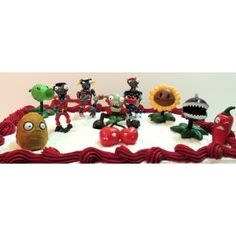 Zombies 10 Piece Birthday Cake Topper