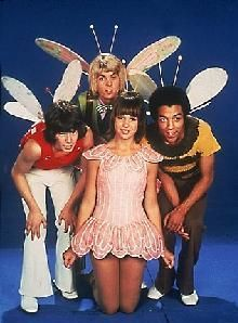 The Bugaloos did exist! When I reminisced about watching this, my sisters thought I was crazy. I KNEW there was a TV show about a group of groovy bugs with sparkly wings!