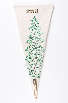 Spruce Pennant from West Coast Love