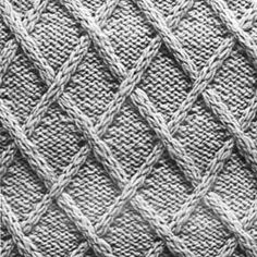 Knitting Pattern Square No. 9, Volume 34 | Free Patterns | Yarn
