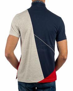 Polo Shirt Design, Polo Design, Mens Polo T Shirts, Online Shopping Clothes, Hugo Boss, Shirt Designs, Navy Blue, Adidas, Mens Tops