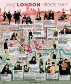 Mapa interactivo de un Londres de cine | Izena duena, bada