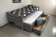 Baby Crib Designs, Ikea Bed, Baby Cribs, Home Crafts, Toddler Bed, Bedroom, Storage, Furniture, Home Decor