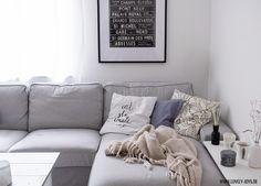 grau weiß skandinavisch wohnzimmer einrichtung ideen