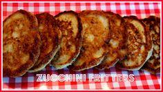 Sweet Tea and Cornbread: Zucchini Fritters!