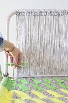 DIY macrame garden chair step_15