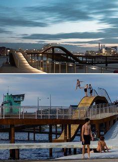 Kalvebod brygge park - Copenhagen, Denmark