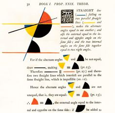 Mondrian Meets Euclid: An Eccentric Victorian Mathematician's Masterwork of Art and Science in Infographics