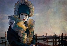 Venetian Carnival -- Soldier Of The Grand Canal By Zina Zinchik Photograph by Zina Zinchik