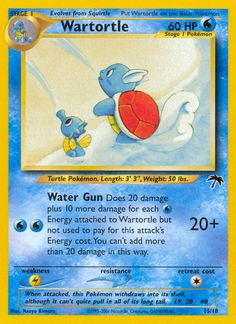 Wartortle Common PL Promo Southern Island Pokemon - Pokemon - ideas of Pokemon Pokemon Images, Pokemon Pictures, Old Pokemon Cards, Game Gem, Pokemon Trading Card, Trading Cards, Pokemon Toy, Card Games, Islands