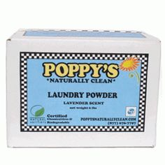 Poppy's Laundry Powder. A healthy approach to clean clothes! http://www.honeycolony.com/shop/poppys-laundry-powder/