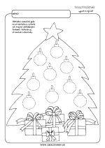 Ozdob vianočný stromček.