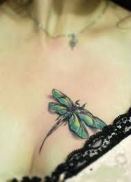dragonfly neck tattoo - Google Search