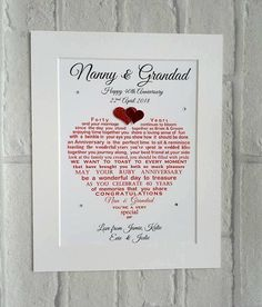 Check out this item in my Etsy shop https://www.etsy.com/uk/listing/256345850/ruby-anniversary-gift-grandparents-ruby
