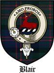 Blair Clan Badge / Crest / Tartan