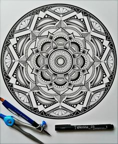 Mandala.3 by drawingsbylenna23