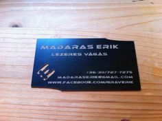 My business card.  www.facebook.com/graverik