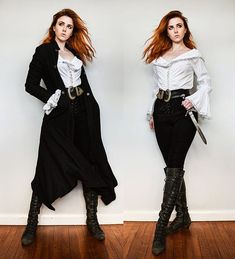 Pretty Outfits, Cool Outfits, Fashion Outfits, Pirate Fashion, Fantasy Dress, Cosplay, Looks Chic, Character Outfits, Costume Design