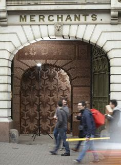 Visitors to Clerkenwell Design Week 2012 arrived through an archway clad in 20,000 wooden hexagons