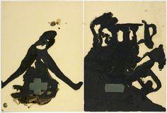 Joseph Beuys | + - | 1962 | Bueys's distinctive cross symbol appears in this work.