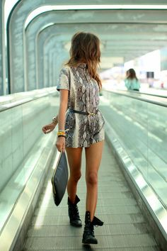 shoes romper snake print belt military style combat boots tumblr fashion pretty cute clutch dress shorts