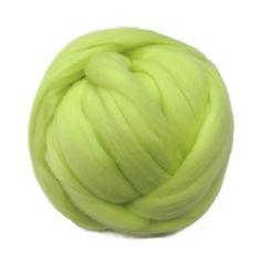 New! 21.5mic Merino Wool Roving , Retro Yellow