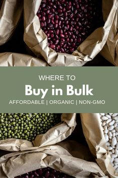 Are you wondering where to buy bulk food from? This company is my favorite place to buy bulk goods! #organic #affordable #nongmo #budget #budgeting