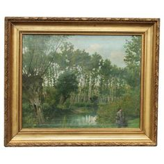 Check out this item at One Kings Lane! 24 x 20 2,999 French Landscape by B. Fillatreau