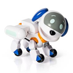 Paw Patrol Action Pack Pup & Badge, RoboDog Time for a ruff, ruff rescue with RoboDog! This action pack pup is a robot made by Ryder. Best Christmas Toys, Best Christmas Presents, Summer Christmas, Christmas 2019, New Power Rangers, Paw Patrol Pups, Buy Toys, Baby Boy Or Girl, Paw Patrol