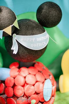 mickey mouse clubhouse centerpieces ideas | Mickey Mouse Clubhouse 1st Birthday Party Planning Ideas Decorations