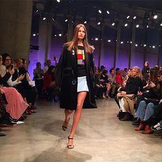 Dutch stunner Luna Bijl slaying the runway @Topshop  #legsfordays #lunabijl #dutchie #beauty #topshop #lfw #london #topshopunique #fashionshow #tatemodern #lofficielnl : @lofficielolivia  via L'OFFICIEL NL MAGAZINE INSTAGRAM - Fashion Campaigns  Haute Couture  Advertising  Editorial Photography  Magazine Cover Designs  Supermodels  Runway Models