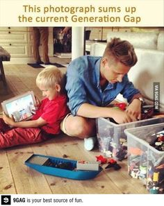 What is this world coming to? Generation Gap
