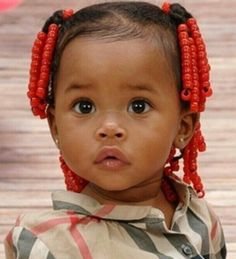 Cute Baby Hairstyles Prepossessing 20 Super Sweet Baby Girl Hairstyles  Pinterest  Black Baby Girls
