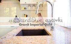 Granit Imperial Gold to ciepły i bogaty w swojej strukturze kamień. Z pewnością ogrzeje i doda kolorytu wnętrzu w którym zostanie zastosowany... GRANMAR.net