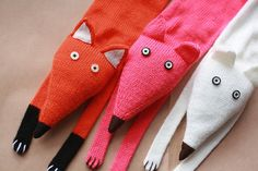 Fox scarf   Kids Red Fox scarf  Toddlers Fox by TreMelarance, €50.00  Also for adults.