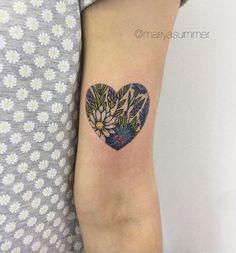 Botanical heart by Mariya Summer