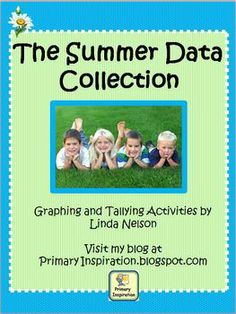 Here's a set of 7 data collection and recording activities that will keep your summer-minded students learning right up to the very last day of school!