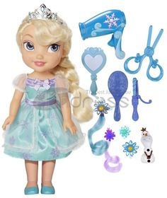 My First Disney Princess Frozen Elsa's Easy Style Party Set