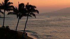 Kahana Maui sunset