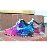 huge selection of 40516 d331a Air Max 90 Candy Drip Navy Hyper Pink Purple Trainer Outlet