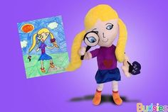 Budsies Brings Your Drawings To Life As Beautiful Plush Dolls