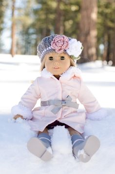 I love this American Girl Doll Coat and Boots.