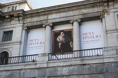 "Cartel de la expo ""Metapintura""  en el Museo de Prado #Madrid #Cartel #Affiche #Arterecord 2016 https://twitter.com/arterecord"