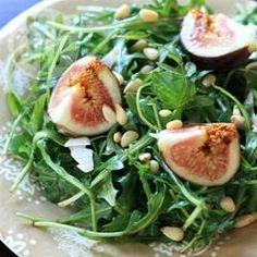 Rucola-Feigen Salat vegan