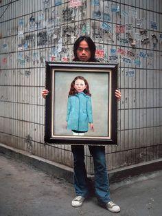 Michael Wolf, extrait de la série « Real fake art » © Michael Wolf
