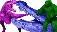Funny Animal Compilation Dinosaurs |  Gorilla Vs Dinosaur | Dinosaur Vs Crocodile | Nursery Rhymes https://youtu.be/vRb7hsKlwgg