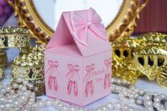 Ballerina Favor Boxes - Set of 12